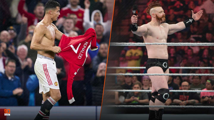 WWE star Sheamus believes CR7 is too soft