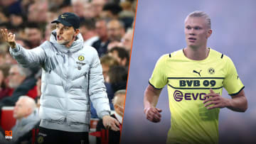 Tuchel has revealed Haaland is discussed regularly at Chelsea