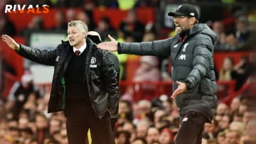 Klopp and Ole on the touchline