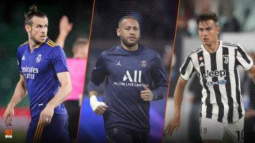 Gareth Bale, Neymar et Dybala devraient manquer leur choc respectif ce weekend.