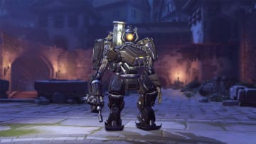 The new Coffin Bastion Overwatch skin.