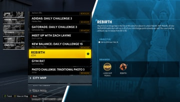 Returning to NBA 2K22 from NBA 2K19 is the Rebirth system.