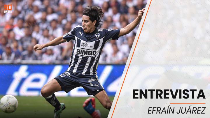 Efraín Juárez con Monterrey