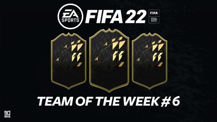 Il TOTW 6 di FIFA 22 Ultimate Team