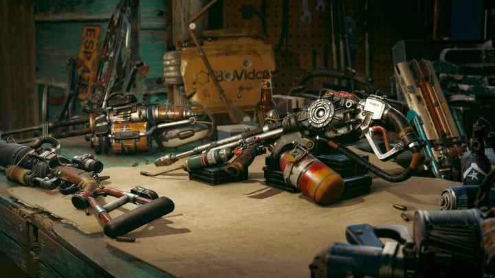 We've compiled a short list of the wackiest weapons available for players to wreak havoc with in Far Cry 6.