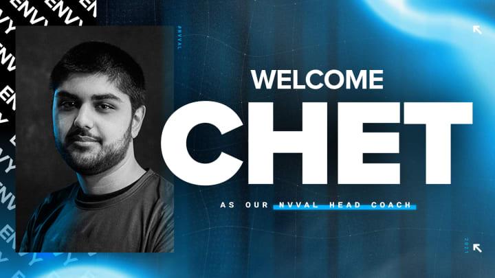 """Chet """"Chet"""" Singh has left TSM to coach for Team Envy."""