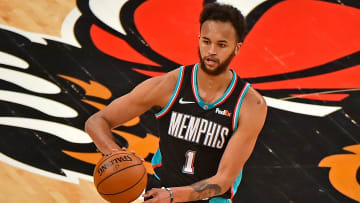 Fantasy basketball sleepers & busts at small forward for 2021-22 drafts, including Kyle Anderson, Mikal Bridges, Klay Thompson and RJ Barrett.