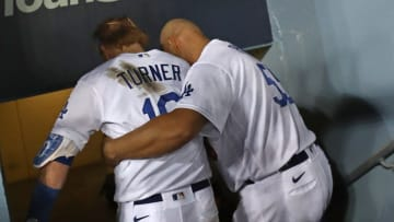 Albert Pujols y Justin Turner son dos veteranos de los Dodgers