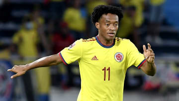 Cuadrado volvería a la formación titular de Colombia