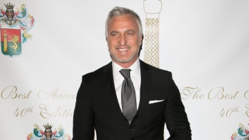 Ginola was working as a pundit on the game