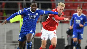 Leicester venceu o Spartak Moscou fora de casa