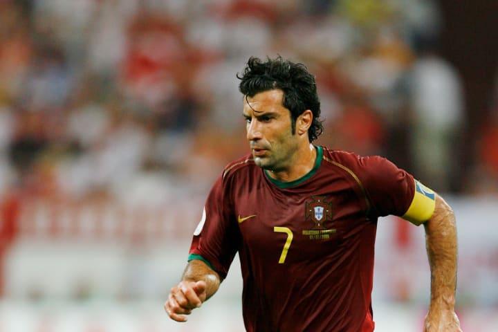Luis Figo, meio-campista da seleção de Portugal