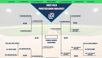 2021 MLB Postseason bracket.