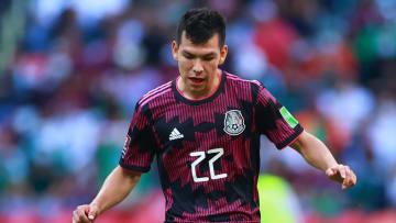 Hirving Lozano, México vs Honduras