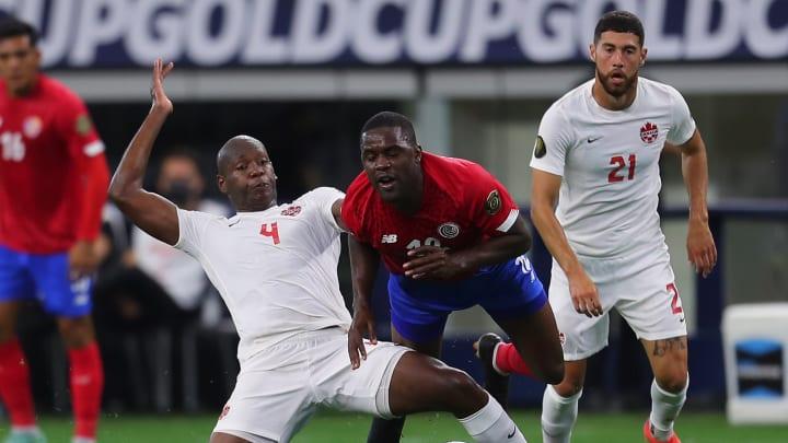 Joel Campbell resultó lesionado con Costa Rica