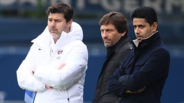 Mauricio Pochettino, Leonardo et Nasser Al-Khelaïfi, les 3 hommes forts du PSG.