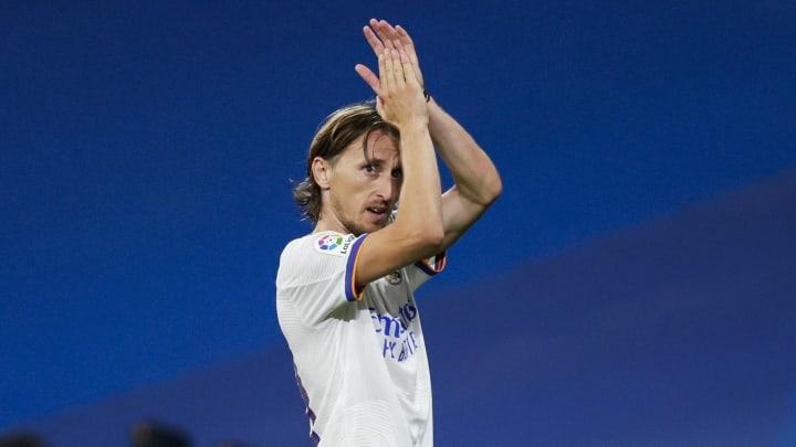 Luka Modric jugó su partido 400 con el Real Madrid