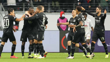 Die Eintracht darf endlich auch im heimischen Stadion jubeln