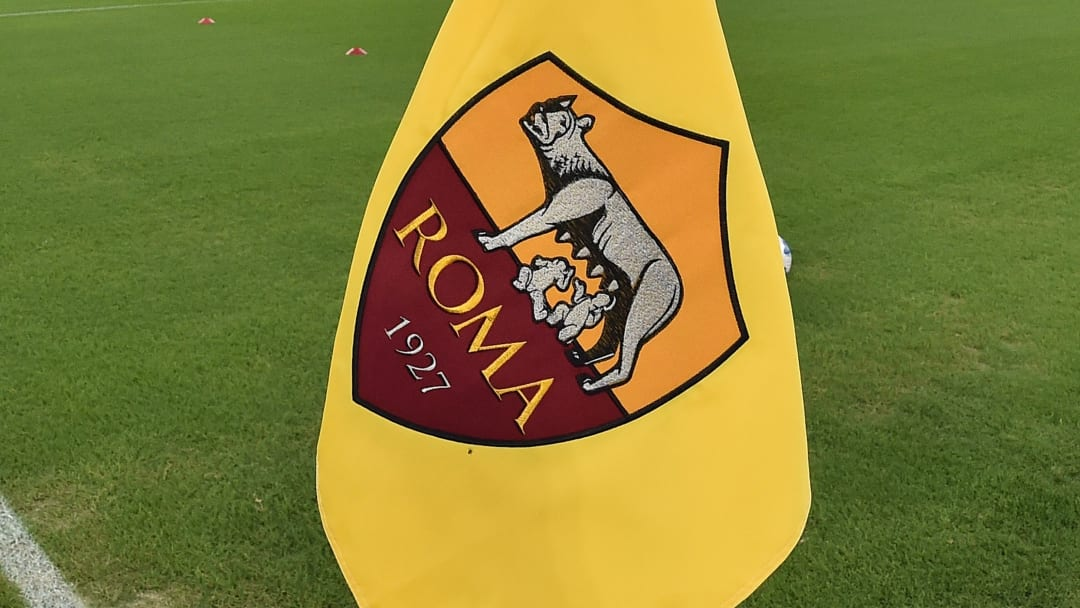 AS Roma bayrağı