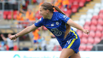 Chelsea's Fran Kirby was on fire in the WSL in September