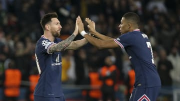 Messi and Mbappe shared spot kick responsibilities