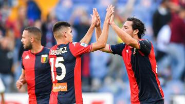 Johan Vásquez debutó en Italia en el Genoa Cfc v Us Sassuolo