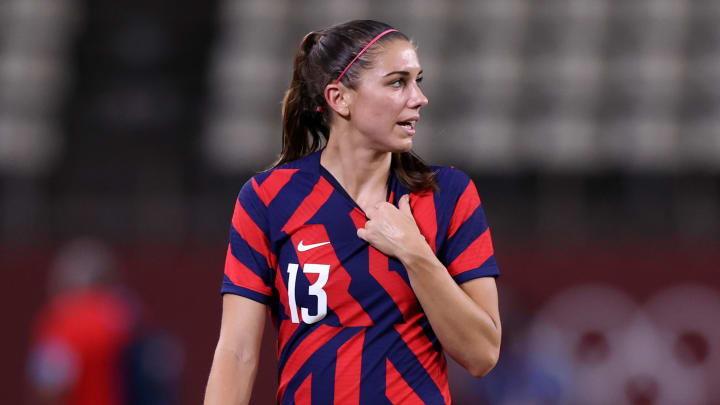 Alex Morgan has been named to a FIFA technical advisory group