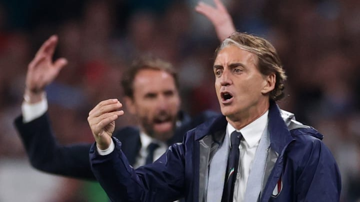 Mancini e Southgate