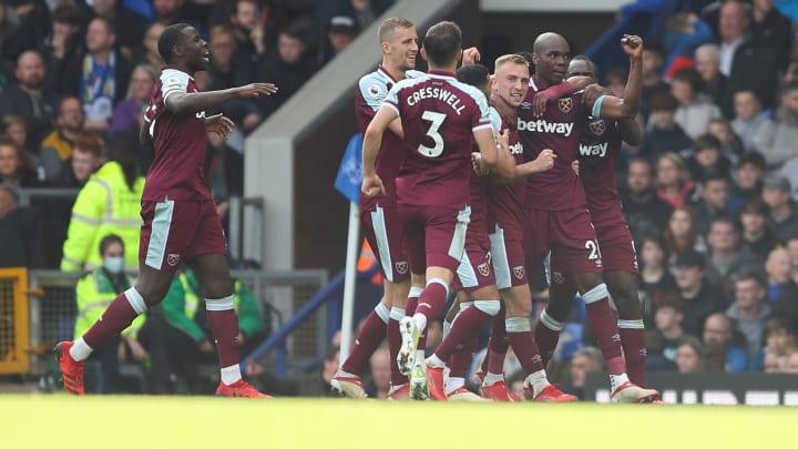 Angelo Ogbonna's celebrates West Ham's winning goal