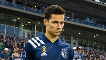 Salloi has notched 16 goals and seven assists for SKC this season.