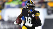 Fantasy football picks for the Pittsburgh Steelers vs Cleveland Browns Week 8 matchup, including Diontae Johnson, Jarvis Landry and Najee Harris.