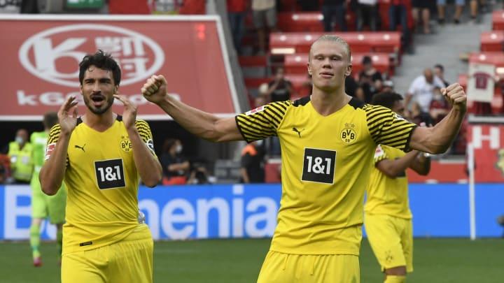 Mats Hummels & Erling Haaland