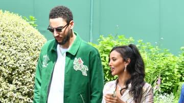 Celebrities Attend Day 8 of Wimbledon 2021