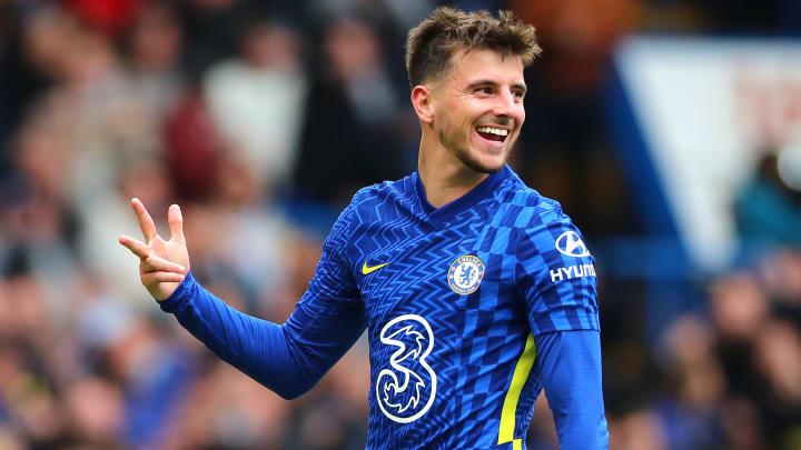 Com três gols e uma assistências, Mount conduziu o placar de 7 a 0 diante do Norwich