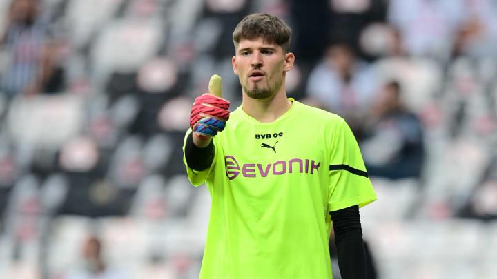 Borussia Dortmund: Keine schwere Verletzung bei Gregor Kobel