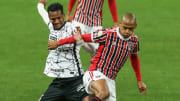 Majestoso no começo de semana no futebol do Brasil. É São Paulo x Corinthians no Campeonato Brasileiro.