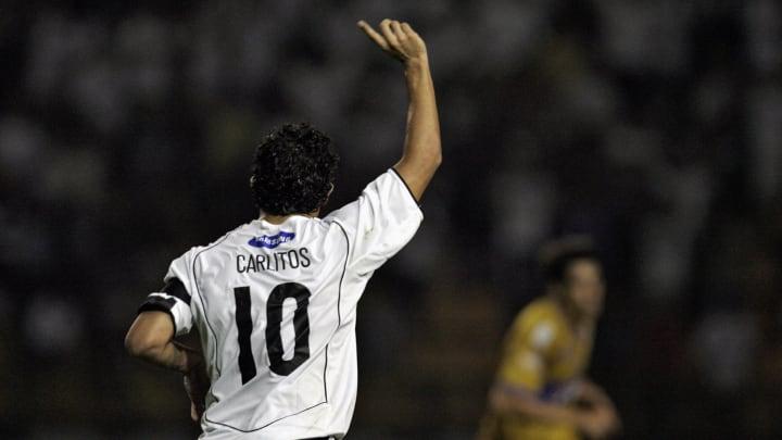 Carlitos Tevez la rompió en Corinthians.