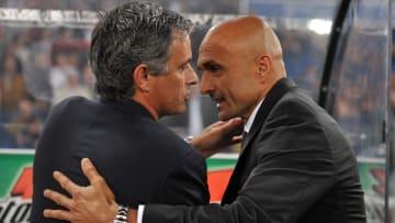 Josè Mourinho e Luciano Spalletti