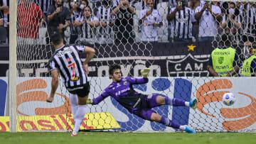 Atlético-MG, de Hulk, lidera a competição e o ranking de penalidades