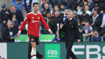 Cristiano Ronaldo, Ole Gunnar Solskjaer