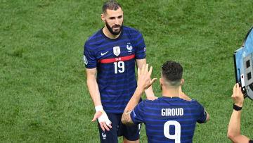 Giroud est revenu sur ses relations avec Benzema