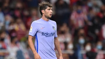 Sergi Roberto's contract is a long-running issue for Barcelona