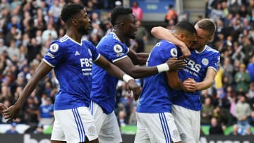 Leicester earned a third successive win over Man Utd