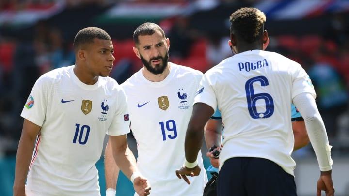 Mbappé, Benzema y Pogba