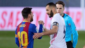 Lionel Messi and Karim Benzema