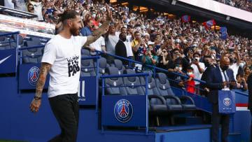 Les supporters parisiens espèrent voir très vite Sergio Ramos en action.