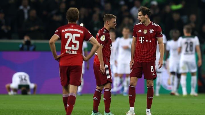 Bayern foi humilhado pelo Mönchengladbach na Pokal