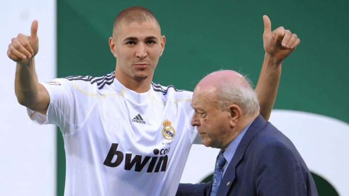 Real Madrid's new player French Karim Be