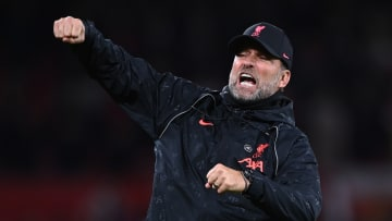Jurgen Klopp led his Liverpool side to a 5-0 win over Manchester United in the Premier League