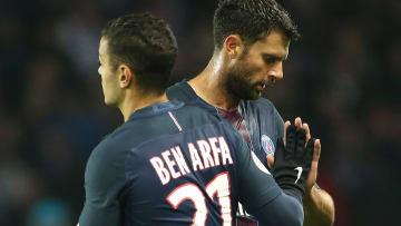 Hatem Ben Arfa jugó para los dos más grandes de Francia